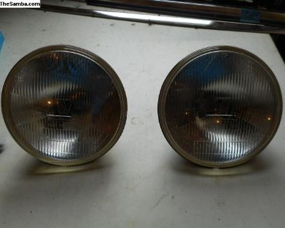 Rare French H-4 style Headlights