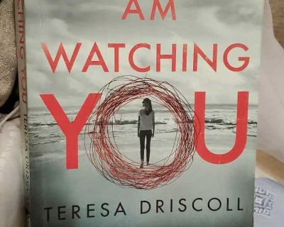 I am watching you softcover book gently used condition