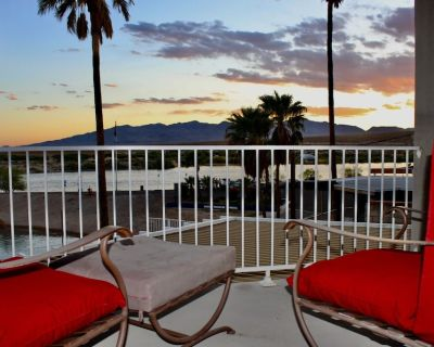 RIVERFRONT MODERN RUBY RED HOME WITH DOCK - Bullhead City