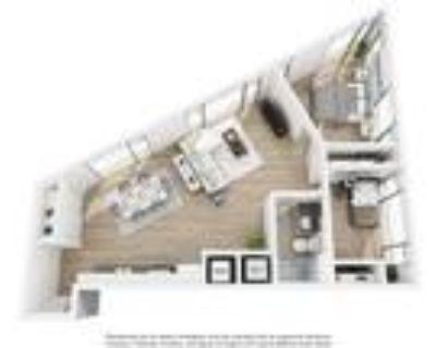 The Shay - 1 Bedroom + Den, 1 Bath 996 SF 21C