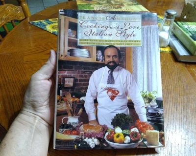 Francis Anthony Cooking with Love ,Italian Style