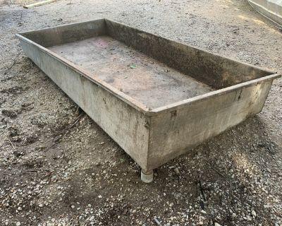 Benco wood stripping tank