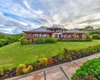 Hawaii Life Rentals presents Ocean Views with Pool & Hot Tub, Koi Ponds &More - Kalihiwai