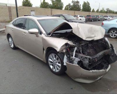Salvage Beige 2013 Lexus Es 300h