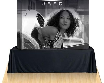 Order Now ! Trade Show Display Booths With Printed Graphics | Quebec