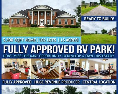 Fully approved RV development FOR SALE! 102 lots