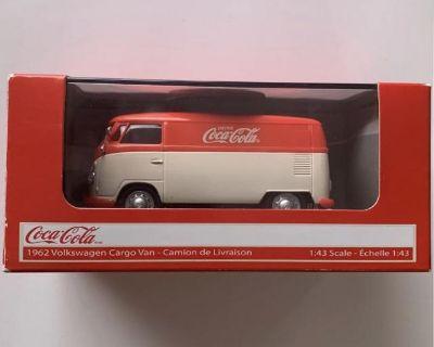 Coca Cola 1962 Volkswagen Samba Panel Van Bus
