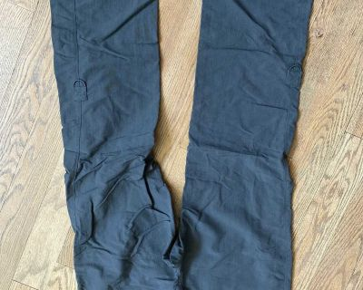The North Face hiking pants, size 12