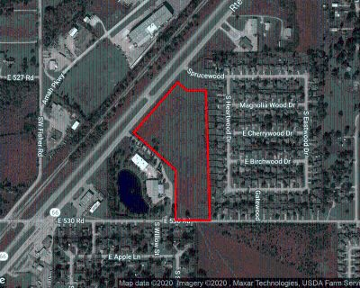 12.06 acres IL development land for sale off Hwy 66 Claremore