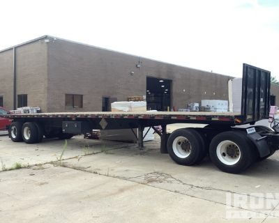 1998 Great Dane T/A Flatbed Trailer