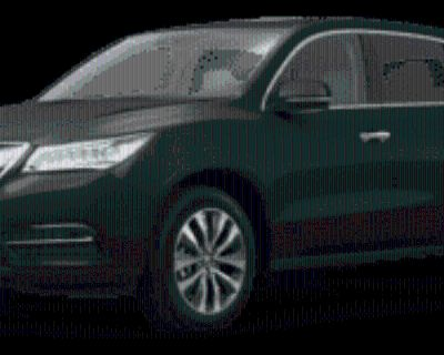 2016 Acura MDX Technology Package