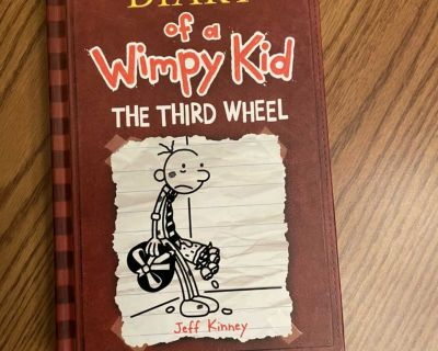 Diary of a Wimpy Kid - the Third Wheel - hardcover