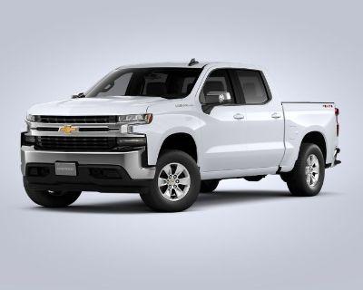 New 2021 Chevrolet Silverado 1500 LT Four Wheel Drive Crew Cab