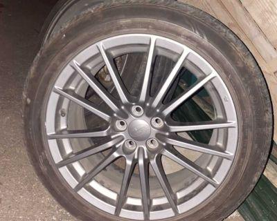Wrx OEM wheels