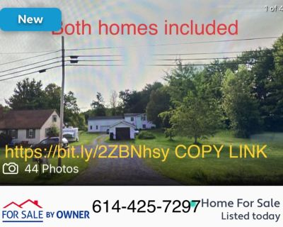 2 homes for sale: Almost 5 Acres