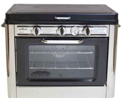 Camp Chef, stove, oven