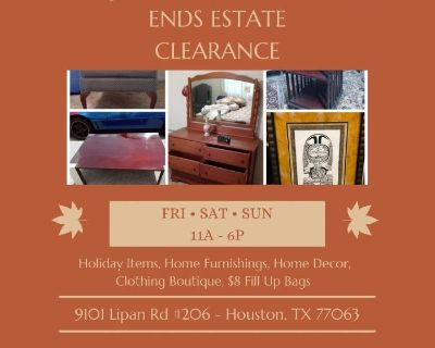 Fall Odds & Ends Estate Clearance