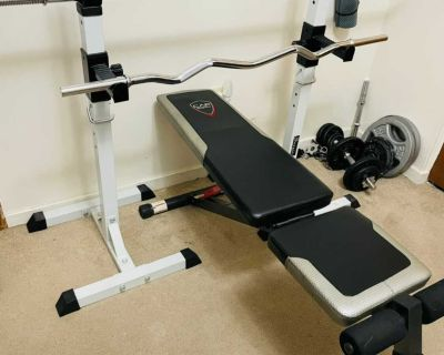 Work out bench only