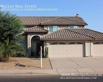 Month-to-Month lease only!!!!  4 Bedroom 2.5 Bathroom Two-Story for Pool in Gilbert!