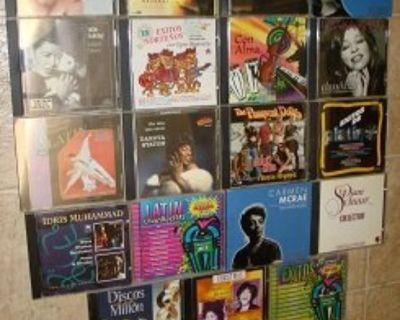 19 R&B,Soul,Latin.Jazz,Pop+ CDs !