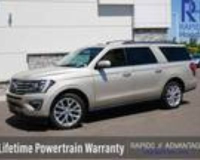 2018 Ford Expedition Gold White, 63K miles