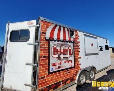 Well-Built 2015 Cargo Mate 8.5' x 20' Food Concession Trailer