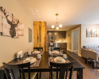 Beautifully Furnished Condo Close to the slopes! - Mount Crested Butte