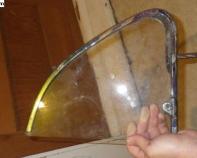 Early Beetle Drivers Side Vent Wing Glass