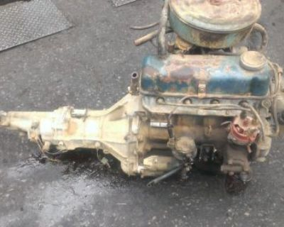 Nissan A-12 Engine Complete Runner With Transmission