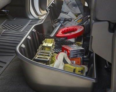 Gm # 22793542 Underseat Storage Box Crew Cab Black Oem Gm New W/ Warranty