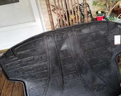 OK the car trunk rubber mat was $75 new asking $45