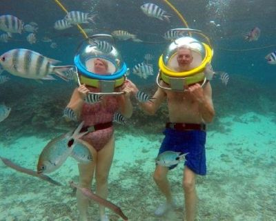 Helmet Diving Excursions for Non Swimmers: A True Unique Experience for the Non Divers