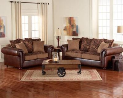 2 Pc Clayton Traditional Sofa and Love Seat