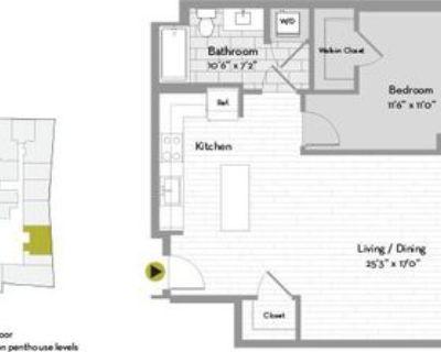 668 Washington St #PH26C, Boston, MA 02111 1 Bedroom Apartment