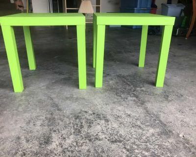End tables/side tables