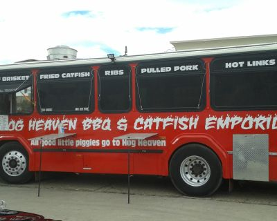 Rapid Transit Bus Converted Into a Food Truck in Aurora, CO