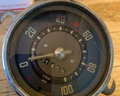 1958 KM speedometer