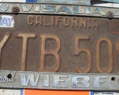 [WTB] Visalia Malick or Wiebe dealer license plate frame