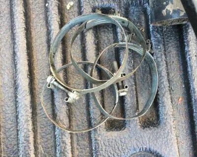 Oil bath air hose clamps
