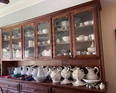 Sandy s Estate Liquidators Limoges Antique Ironstone Pottery Haviland Vintage glass