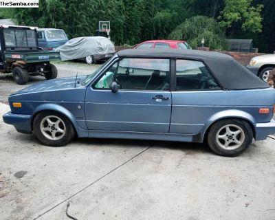 1989 VW Cabrio diesel yes diesel convertible
