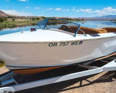1955 All Wood Higgins Boat **Brand new engine**