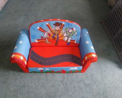 Child's Toy Story Marshmallow Convertible Couch