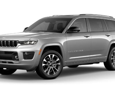 New 2021 JEEP Grand Cherokee L Overland With Navigation