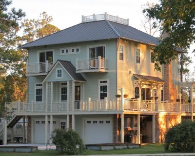 Coastal Carolina Cottage waterfront in Oriental NC. 1 mile from River Dunes. - Oriental
