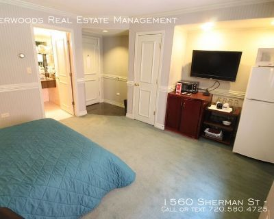 Furnished Studio - Flexible Leasing Options (Month to Month), 1 Block from State Capitol, & On Site Laundry