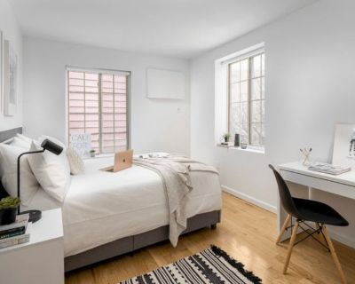 Bushwick bedroom fully set up ready for you to mov