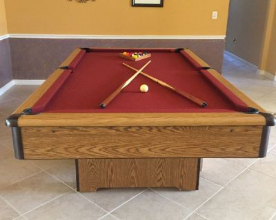 4' x 8' AMF Pool Table-FREE DELIVERY and SET-UP INCLUDED!!