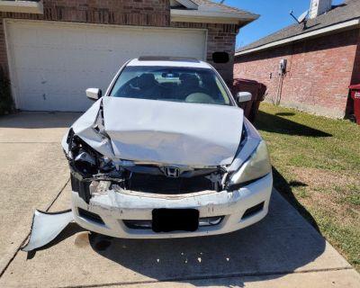 2007 Honda Accord - Repair / Parts