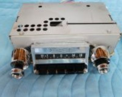 1957 chevy 210 radio